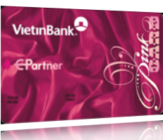 Thẻ ATM Pink-card