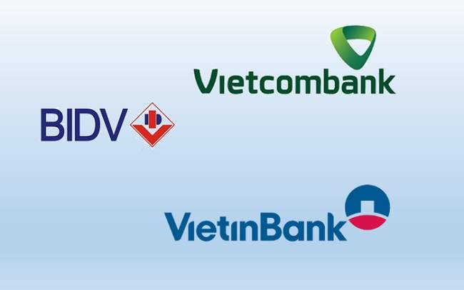 Mục tiêu lợi nhuận năm 2020 của 3 ông lớn Vietinbank, Vietcombank và BIDV