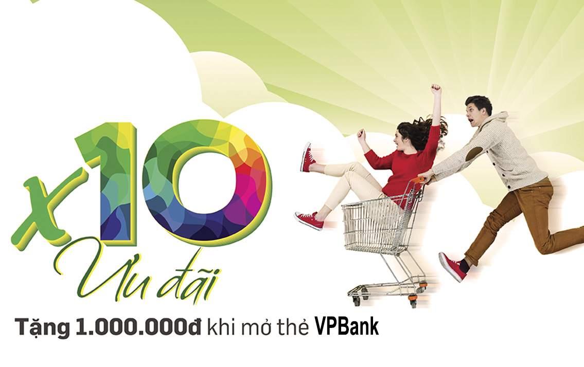 Ưu đãi thẻ tín dụng VPBank - Món quà hấp dẫn dành riêng cho khách hàng của VPBank