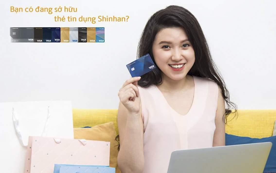 Thẻ tín dụng Shinhan Cashback - Sản phẩm tín dụng hoàn tiền không giới hạn