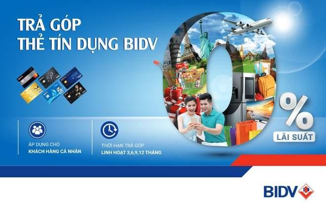 Trả góp qua thẻ tín dụng BIDV và những thông tin cần nắm