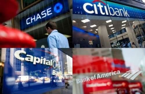 Các ngân hàng lớn tại Mỹ